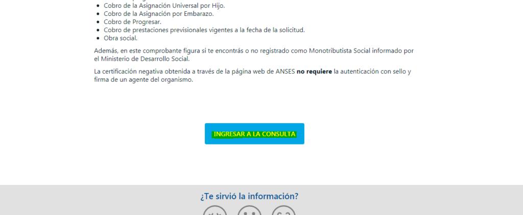 Cómo obtener la Certificación Negativa de la ANSES por CUIL