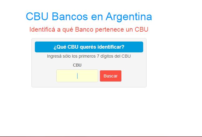 CBU de ANSES: