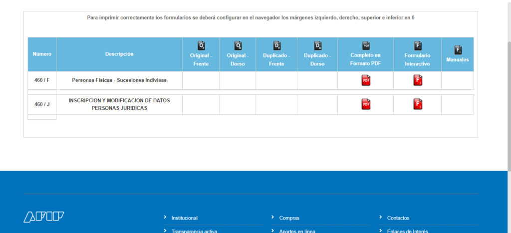 Formulario 460 J: Aprende cómo descargar el PDF necesario para inscribir o registrar tu empresa en AFIP